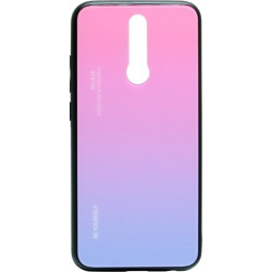 Накладка Xiaomi Redmi 8 violet/pink Gradient Glass