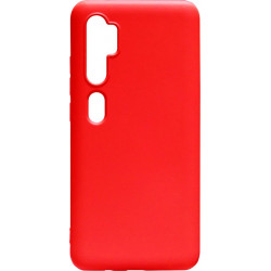 Силикон Xiaomi Mi Note10/CC9 Pro red Silicone Case