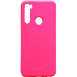 Силикон Xiaomi Redmi Note 8T pearl hot pink Silicone Case Molan