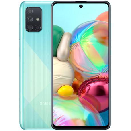 Смартфон Samsung Galaxy A71 6/128GB Blue (SM-A715F) UA-UCRF Оф. гарантия 12 мес.