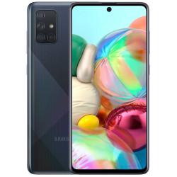 Смартфон Samsung Galaxy A71 6/128GB Black (SM-A715F) UA-UCRF Оф. гарантия 12 мес. + FULL-комплект аксессуаров*