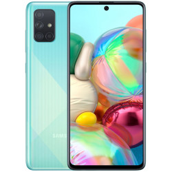 Смартфон Samsung Galaxy A71 6/128GB Blue (SM-A715F) UA-UCRF Оф. гарантия 12 мес. + FULL-комплект аксессуаров*