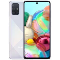Смартфон Samsung Galaxy A71 6/128GB Silver (SM-A715F) UA-UCRF Оф. гарантия 12 мес. + FULL-комплект аксессуаров*