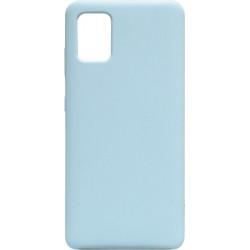 Накладка SA A51 light blue Soft Case