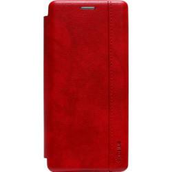 Чехол-книжка SA A71 red Leather Gelius