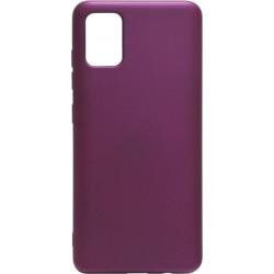 Силикон SA A515 pearl violet Silicone Case