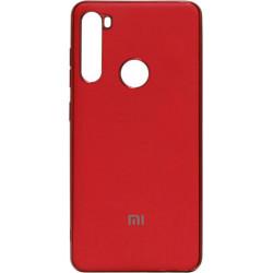 Силикон Xiaomi Redmi Note 8T red Matte Gloss