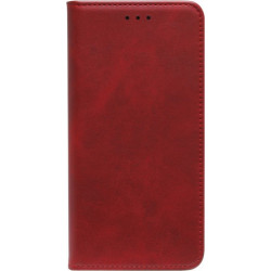 Чехол-книжка Xiaomi Redmi Note 8 Pro red Leather