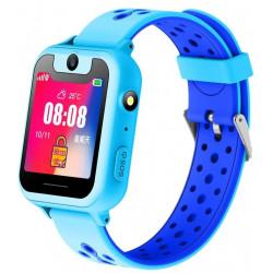Smart Watch SK-008/MT-01/MT-02 Kids GSM/GPS/камера/IP64 light blue Гарантия 1 месяц