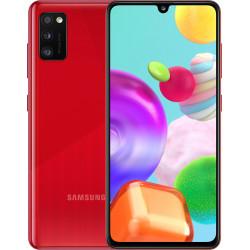 Samsung Galaxy A41 4/64GB Red (SM-A415FZRDSEK) UA-UСRF Официальная гарантия 12 мес. + FULL-комплект аксессуаров*