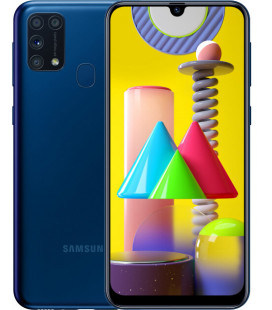 Samsung Galaxy M31 6/128GB Blue (SM-M315FZBUSEK) UA-UCRF Гарантия 12 мес. + FULL-комплект аксессуаров*