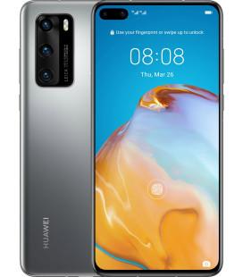 Huawei P40 8/128GB Silver Frost UA-UCRF Офиц. гар. 12 мес. + FULL-комплект аксессуаров*