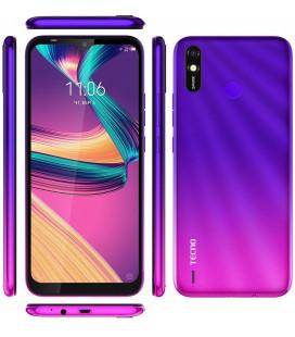 Смартфон TECNO Spark 4 Lite (BB4k) 2/32Gb Hillier Purple UA-UCRF Оф. гарантия 12 мес. + FULL-комплект аксессуаров*