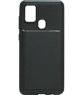 Накладка SA M31 black Carbon TPU PC