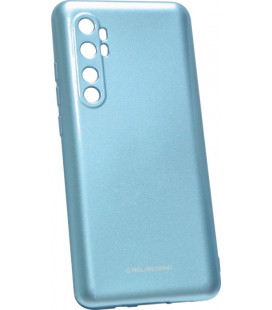 Силикон Xiaomi Mi Note10/CC9 Pro blue Glossy Jelly Case Molan