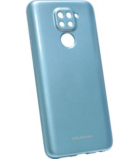 Силикон Xiaomi Redmi Note9 blue Glossy Jelly Case Molan