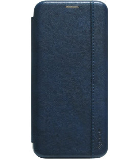 Чехол-книжка Huawei P40 Lite E dark blue Leather Gelius