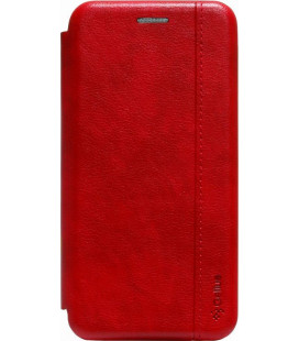 Чехол-книжка Huawei P40 Lite E red Leather Gelius