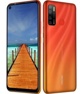 Смартфон Tecno Spark5 Pro (KD7) 4/128Gb DS Spark Orange UA-UCRF Оф. гарантия 12 мес. + FULL-комплект аксессуаров*
