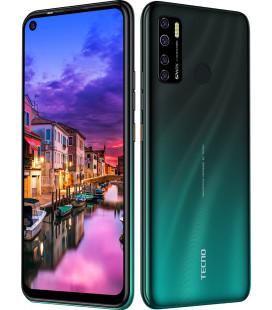 Смартфон Tecno Spark5 Pro (KD7) 4/128Gb DS Ice Jadeite UA-UCRF Оф. гарантия 12 мес. + FULL-комплект аксессуаров*