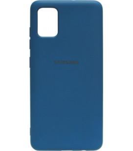 Силикон SA A515 dark blue Silicone Case