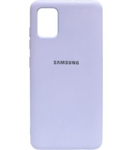 Силикон SA A515 light violet Silicone Case