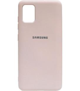 Силикон SA A515 peach Silicone Case
