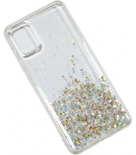 Накладка SA A515 clear/gold Confetti