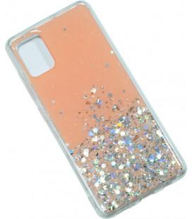 Накладка SA A515 peach/silver Confetti