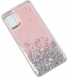 Накладка SA A515 pink/silver Confetti
