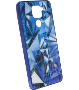Накладка Xiaomi Redmi Note9 blue Prism Chameleon Glass