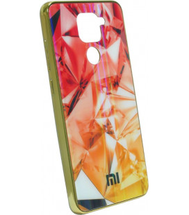 Накладка Xiaomi Redmi Note9 gold Prism Chameleon Glass