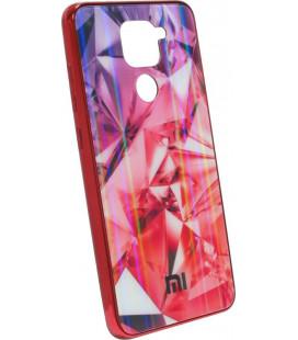 Накладка Xiaomi Redmi Note9 red Prism Chameleon Glass