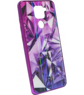 Накладка Xiaomi Redmi Note9 violet Prism Chameleon Glass