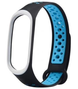 Ремешок Xiaomi Mi Band 3/4 Black/Blue Nike