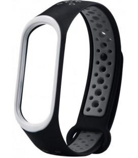 Ремешок Xiaomi Mi Band 3/4 Black/Gray Nike
