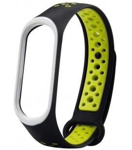 Ремешок Xiaomi Mi Band 3/4 Black/Green Nike