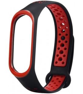 Ремешок Xiaomi Mi Band 3/4 Black/Red Nike