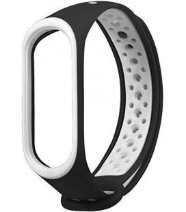 Ремешок Xiaomi Mi Band 3/4 Black/White Nike
