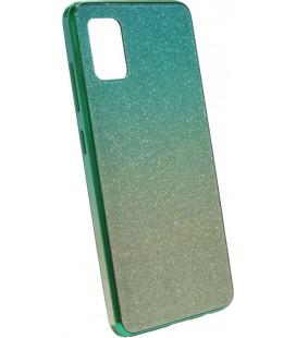 Накладка SA A515 gold/mint Glitter Glass
