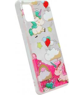Накладка SA A515 pink Unicorn аквариум