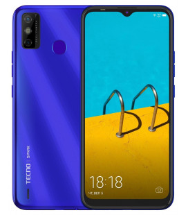 Смартфон Tecno Spark 6 Go 3/64Gb (KE5j) DS Aqua Blue UA-UCRF Оф. гарантия 12 мес.