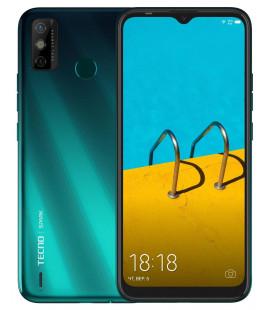 Смартфон Tecno Spark 6 Go 3/64Gb (KE5j) DS Ice Jadeite UA-UCRF Оф. гарантия 12 мес. + FULL-комплект аксессуаров*