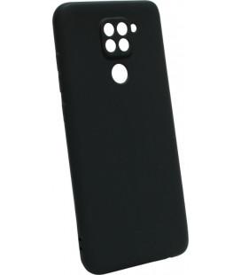 Силикон Xiaomi Redmi Note 9 black SMTT