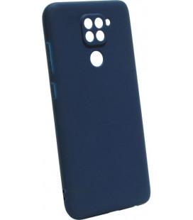 Силикон Xiaomi Redmi Note 9 dark blue SMTT