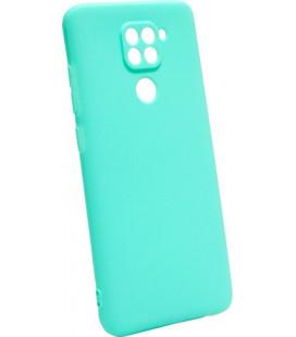 Силикон Xiaomi Redmi Note 9 mint SMTT