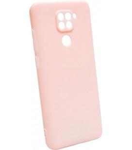 Силикон Xiaomi Redmi Note 9 pink SMTTс