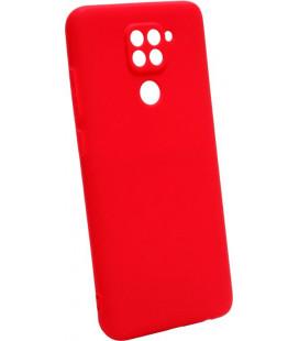 Силикон Xiaomi Redmi Note 9 red SMTT