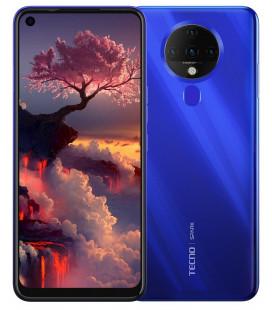 Смартфон Tecno Spark 6 KE7 4/128GB Ocean Blue UA-UCRF Оф. гарантия 12 мес. + FULL-комплект аксессуаров*