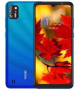 Смартфон TECNO POP4 Pro (BC3) 1/16Gb DS Vacation Blue UA-UCRF Оф. гарантия 12 мес.